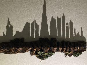Shadow Art Skyline