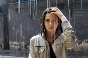 Travel tip rain poncho